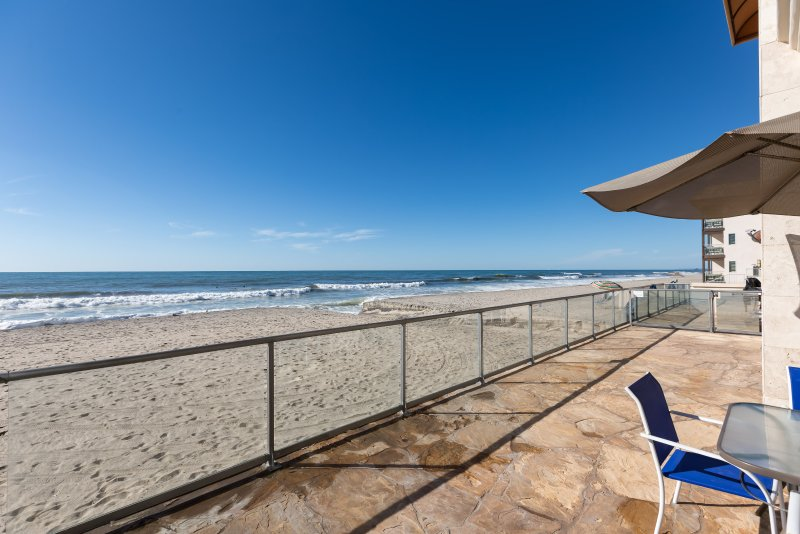 Your Room Patio Directly on Beach