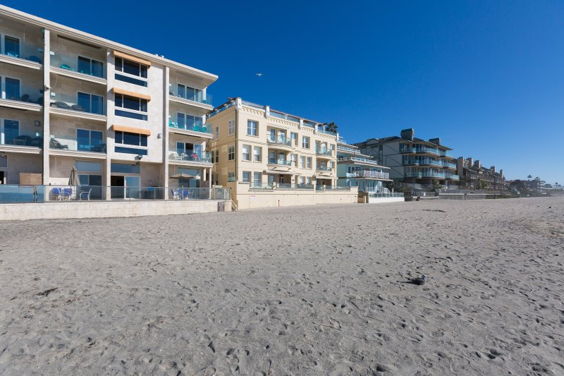 Front of Building on Beach