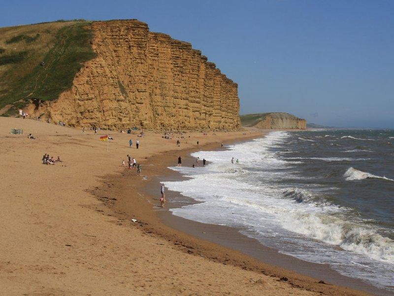 West Bay, near Bridport, on Dorset's Jurassic coast