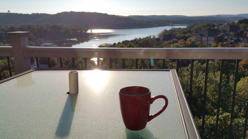 En perfekt plats för ditt morgonkaffe.