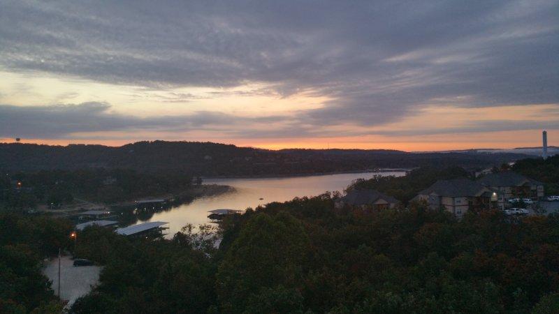 Incroyable vue sur le lac