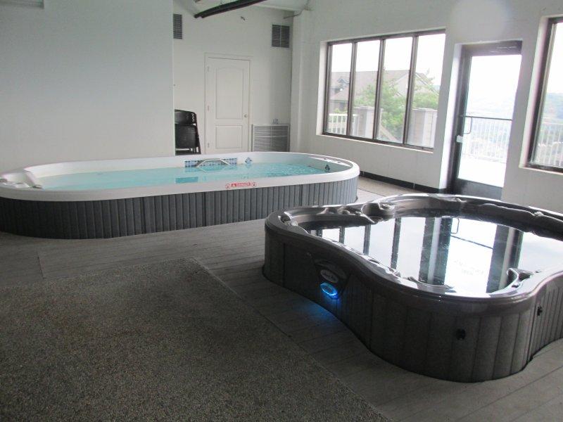 bain à remous, salle de fitness, piscine
