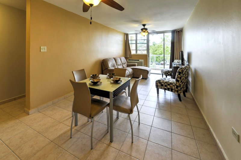 You'll love the open layout of this unit.