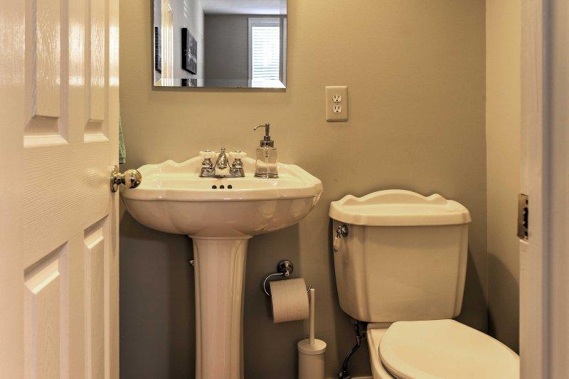 La stanza di polvere aggiunge la convenienza durante il vostro soggiorno.