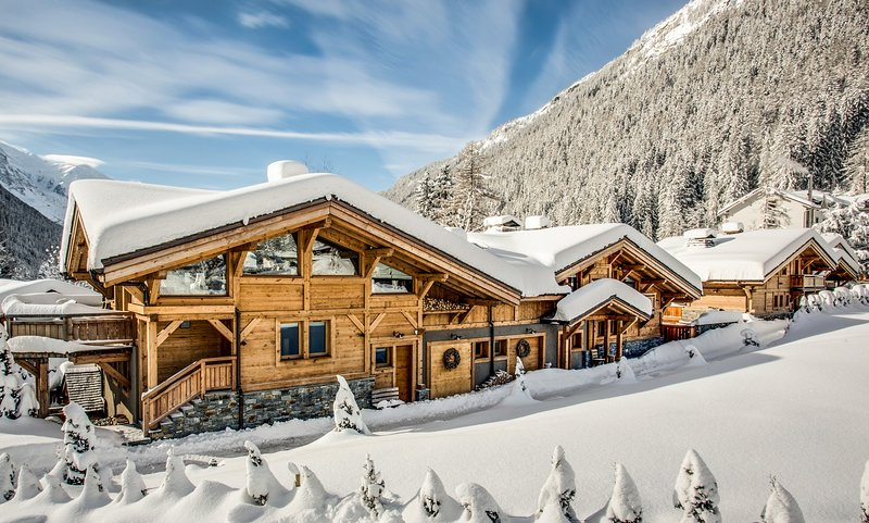 The Argentiere Rives under snow