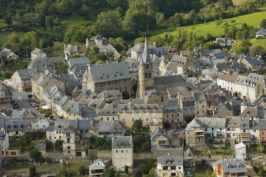Saint -Come Olt (Aveyron) France.Classé one of the most beautiful villages in France.