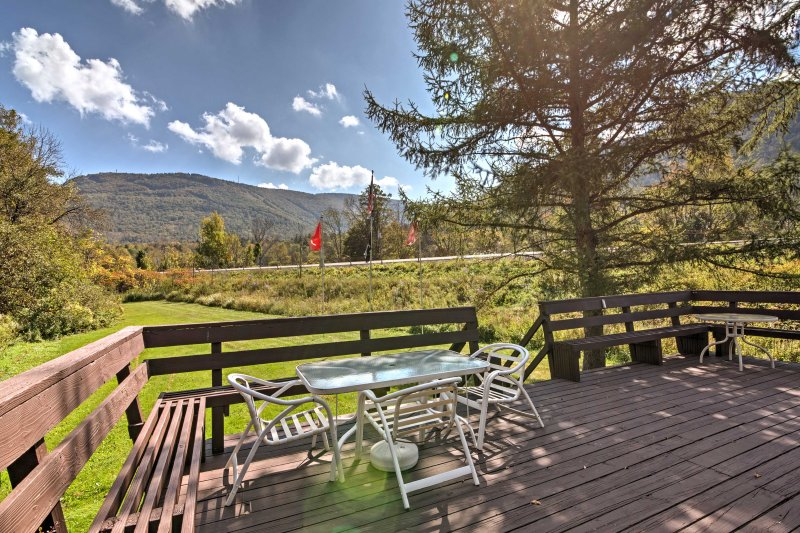 Hunter House w/ Deck & Mtn. Views Near Ski Slopes!, alquiler de vacaciones en Hunter