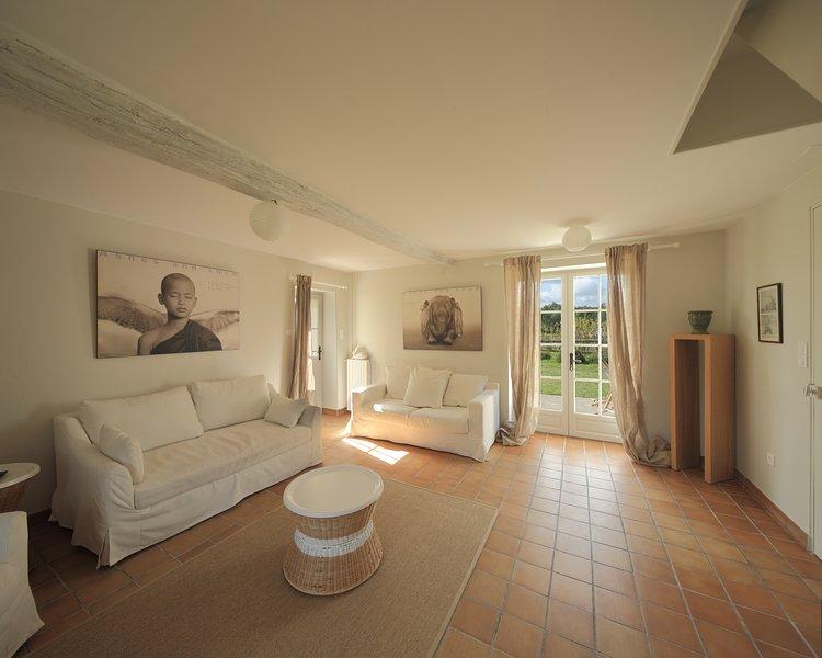 La maison d'Annie - Domaine de la Trigalière, Centre Val de Loire, holiday rental in Mazieres-de-Touraine