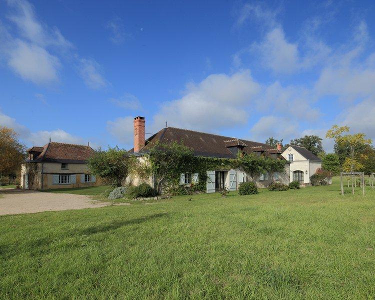 La Dreuserie - Domaine de la Trigalière, Centre Val de Loire, holiday rental in Mazieres-de-Touraine