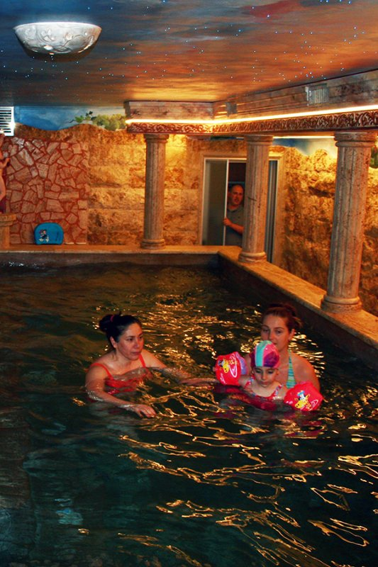 "Indoor pool, ""Marco Aurelio"" with jacuzzi and swimming"