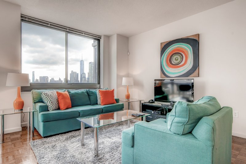 Global Luxury Suites Downtown Jersey City, aluguéis de temporada em Jersey City