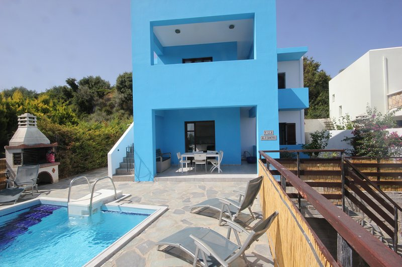 Villa Alexandra has 2 self contained floors and its own private pool.