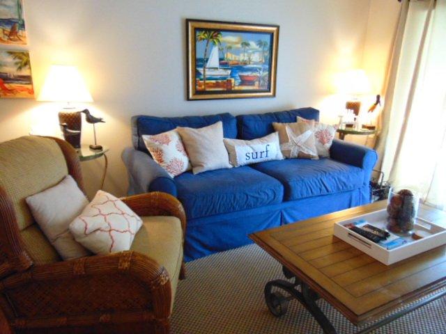 Sala de estar nuevo sofá