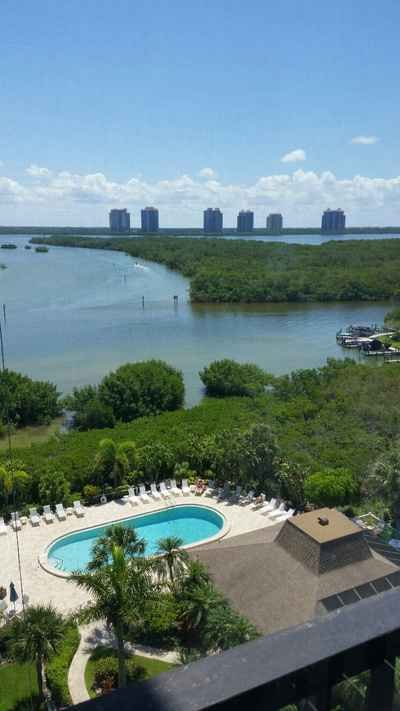 Pool and Estero Bay View