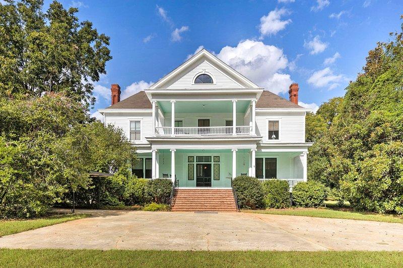 Stay at this 3-bed, 3-bath vacation rental villa in Saint Matthews!
