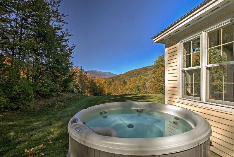 Évadez-vous dans les Montagnes Blanches lorsque vous séjournez dans cette location de vacances à Jackson!
