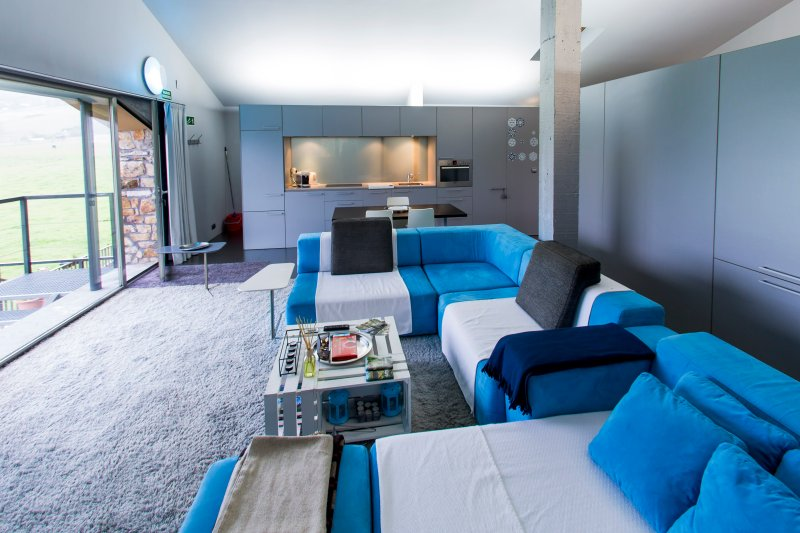 Loft Diseno Minimal Con Terraza Minimal Designer Loft With