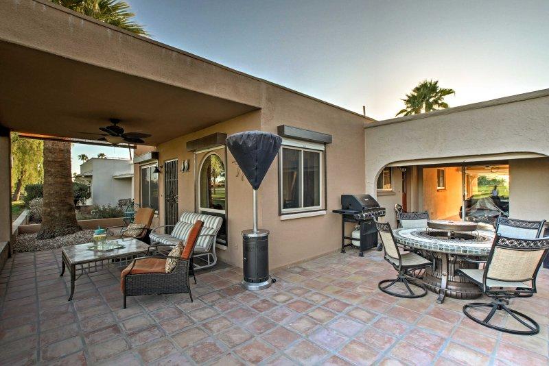 Ihr Arizona home-away-from-home bietet ausreichend Platz für bis zu 4 Personen.