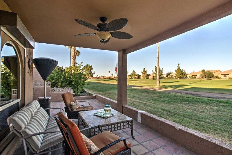 Ein friedlicher Rückzug in der Wüste erwartet Sie in diesem Ferienobjekt Eigentumswohnung in Mesa!