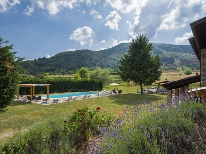 Stunning views, private pool and gardens