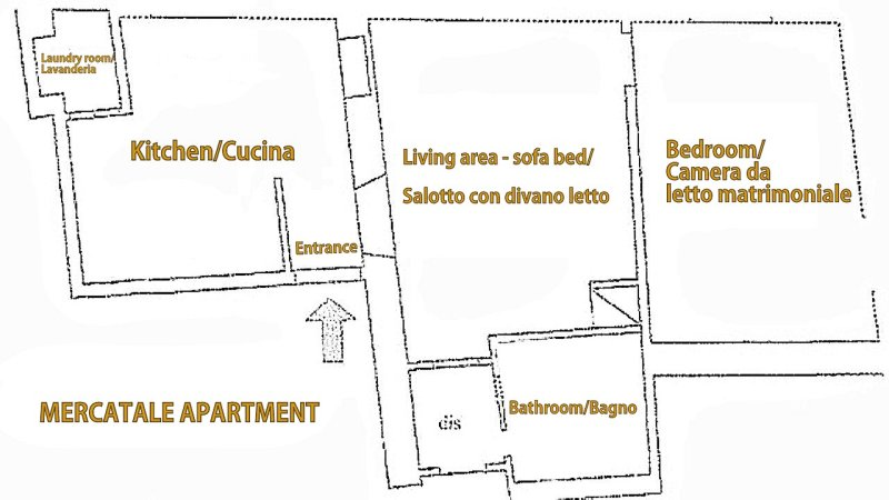 Floor Plan of the house.