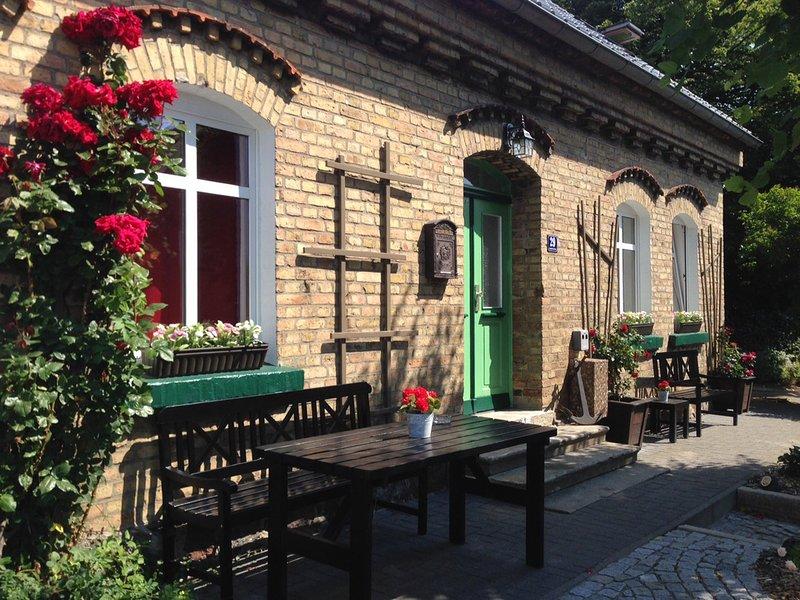 Traumhafte Ferienwohnung 'Romantik' in Schaprode, Rügen, holiday rental in Lieschow