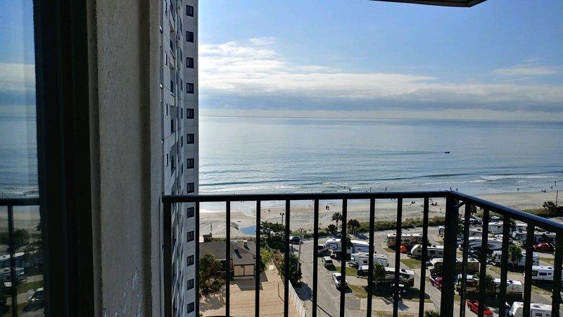 Myrtle Beach Resort - Relajante vista balcón