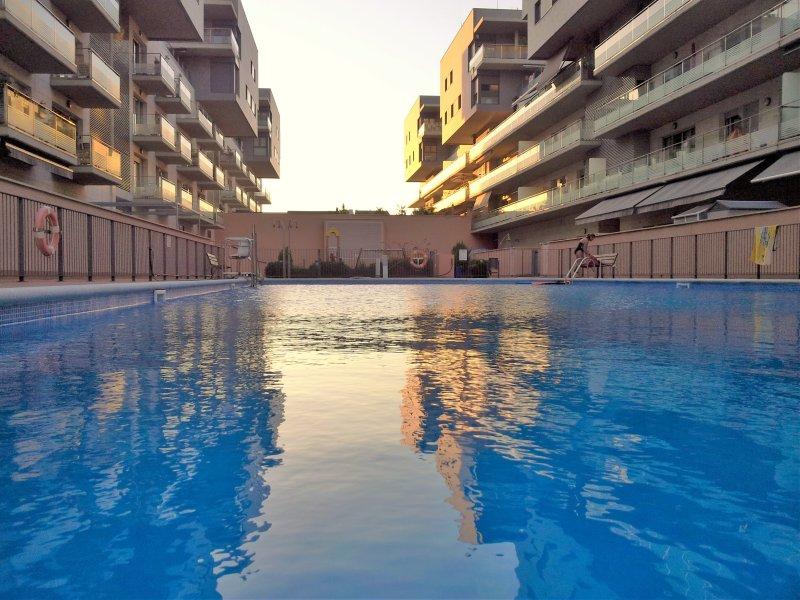 grote gemeenschappelijke zwembad