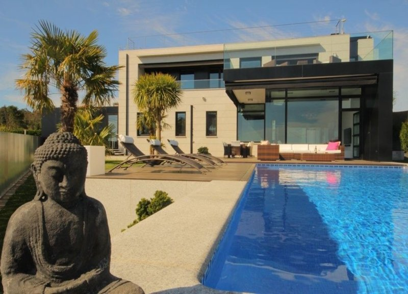Villa - 5 Bedrooms with Pool and WiFi - 101120, vacation rental in Sanxenxo