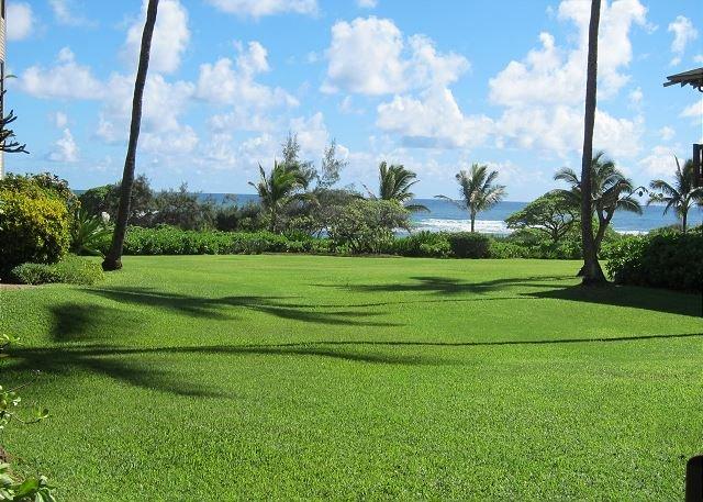 Kaha Lani Resort #114, Ocean View, Steps to Beach, Beautiful Sunrises, Wifi, alquiler de vacaciones en Lihue