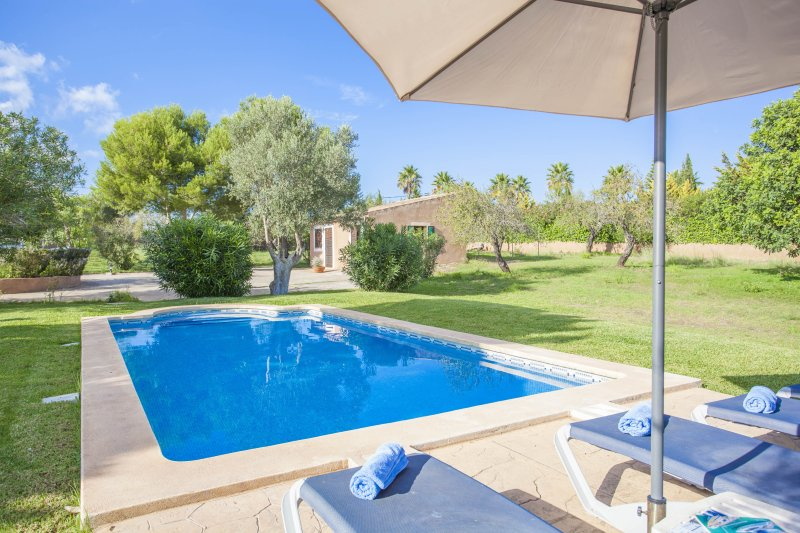 CAN ANDREU - Villa for 3 people in Capdepera, holiday rental in Cala Agulla