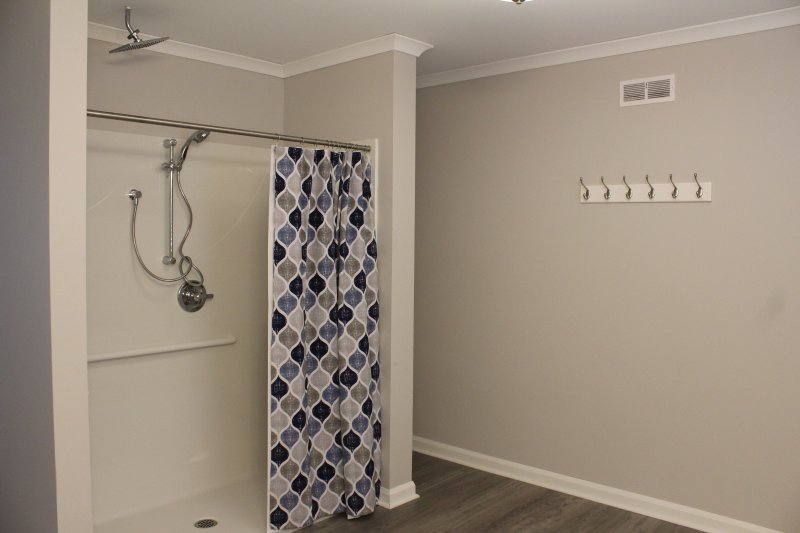 accessible and rain shower heads