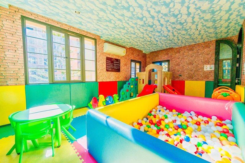 Sala de jogos. área para crianças.