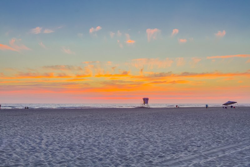 Wide sandy beaches and breathtaking sunsets await