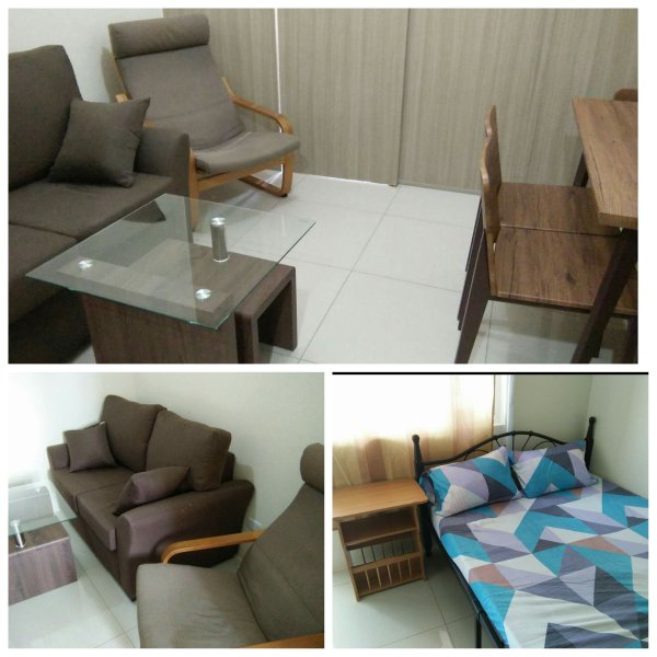 Brand new 1 Bedroom with Sunrise Makati city view balcony.  Very close to Mall of Asia & US embassy