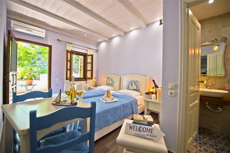 Standard Room 15 q.m. Garden View, vacation rental in Chorefto