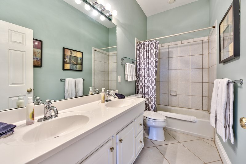 2nd Bathroom With Shower and Tub;
