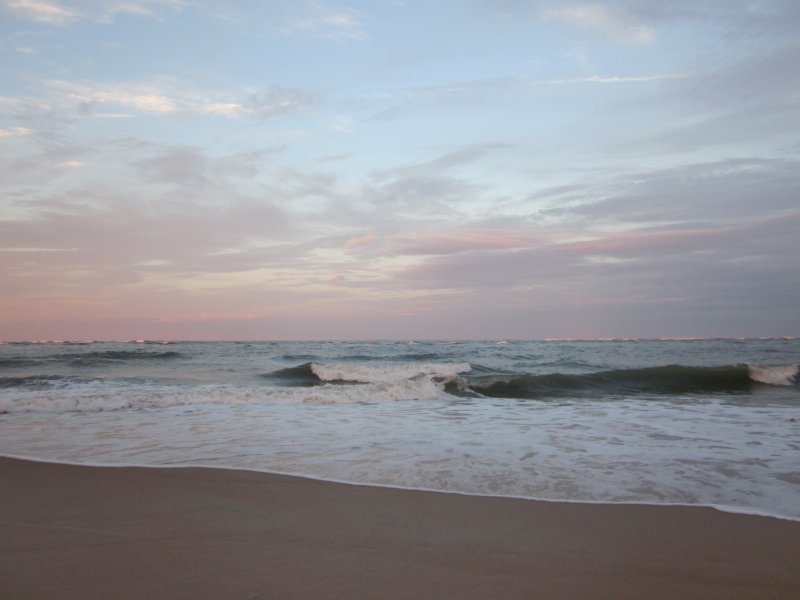 Océano Atlántico cerca de la casa de pueblo!