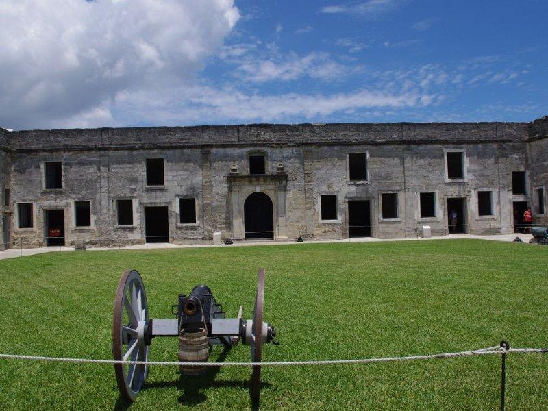 Castillo de San Marcos Fort centro de San Agustín