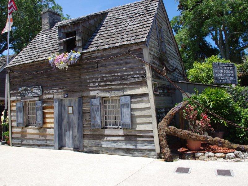 Ältestes Schulhaus in der Innenstadt von St. Augustine.