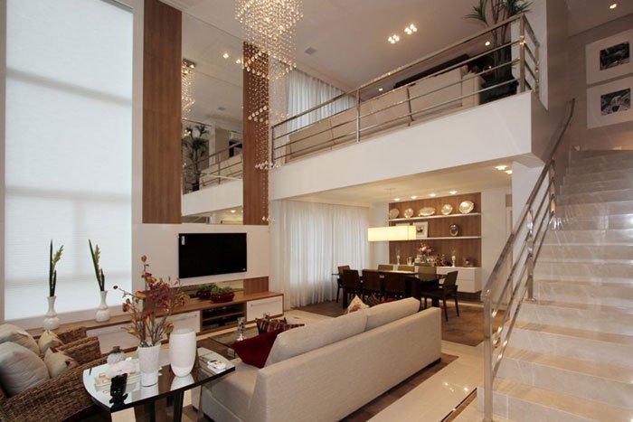 Dining room. Living room