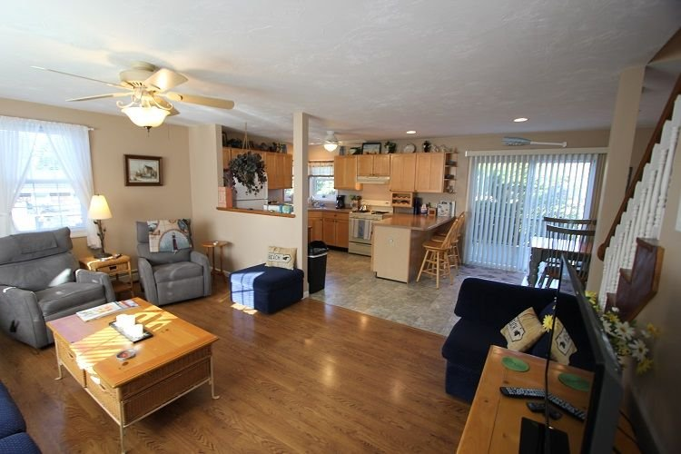 Open Living Room to Kitchen