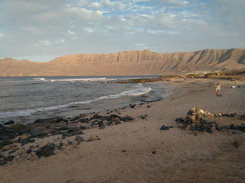 Unas de las playa de famara