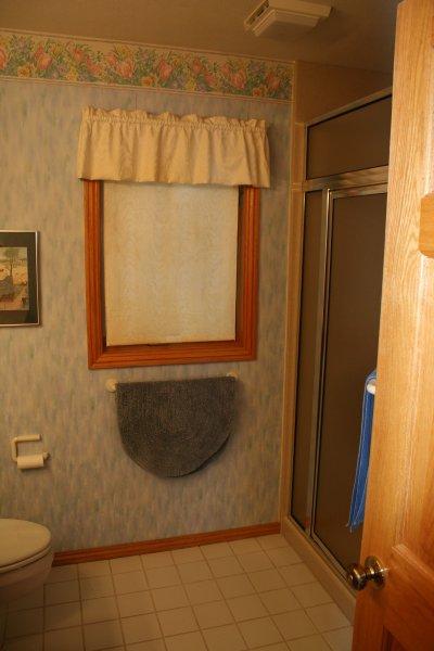 Master bedroom ensuite shower bathroom