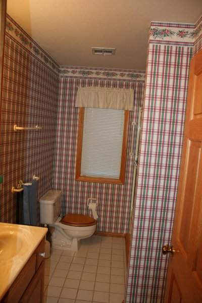 Bathroom #2 with tub and shower