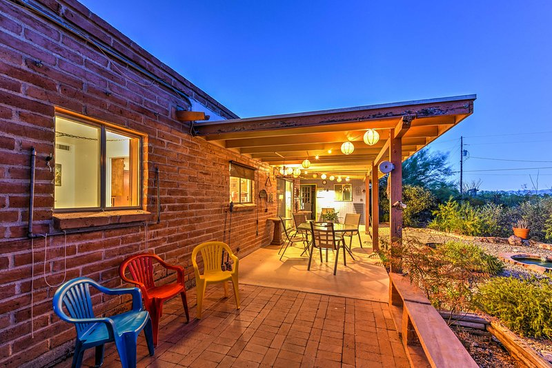 Adventure to Arizona when you book this Tucson vacation rental home!