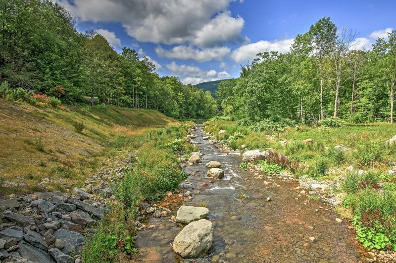 You'll love the easy access to nearby Hunter Mountain!
