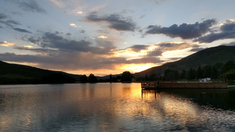 Avon is lovely year-round! Stay for sunsets at Nottingham Park