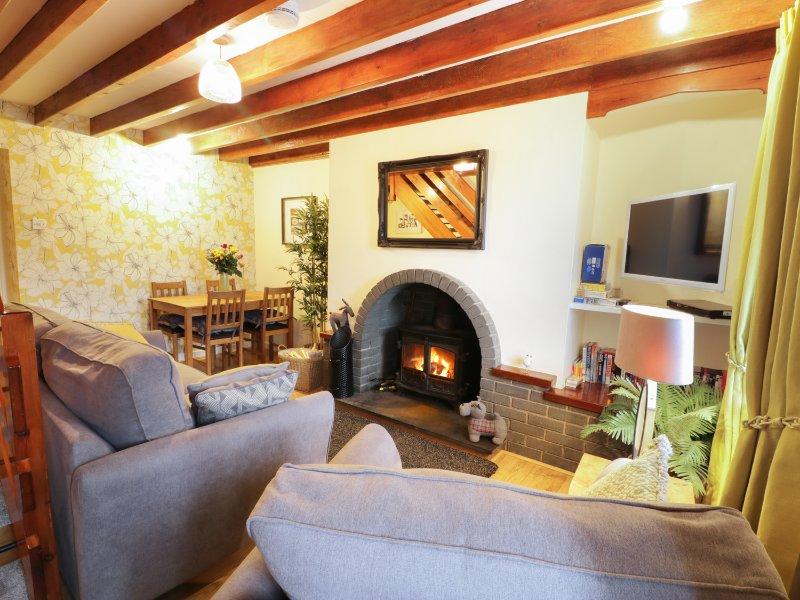 LLETY, pet friendly, woodburner, garden with patio, in Trefor, Ref. 967073, casa vacanza a Trefor