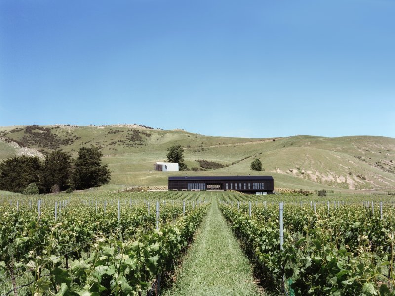 Black Estate Wines Luxury B & B, Ferienwohnung in Canterbury Region
